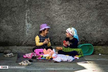 بازی در کوچه های محله