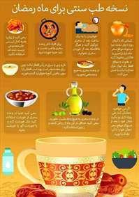 طب سنتی برای ماه رمضان