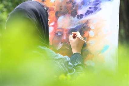 """جشنواره """"شهروند نقاش"""" در رامسر"""