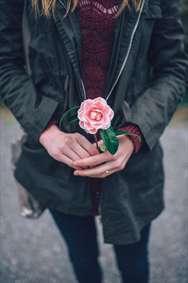گل بهترین هدیه از دل