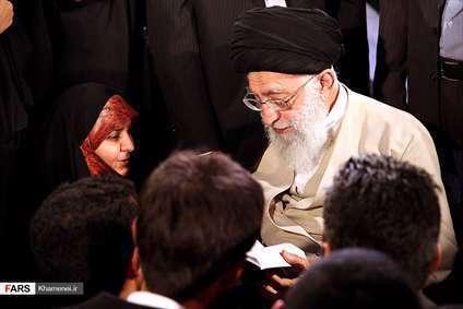 دیدار شاعران و اهالی فرهنگ و ادب با رهبر معظم انقلاب اسلامی