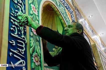 آیین غبارروبی مساجد بجنورد درآستانه ماه رمضان