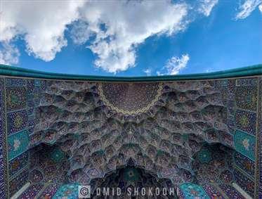 مسجد شاهعباس اصفهان