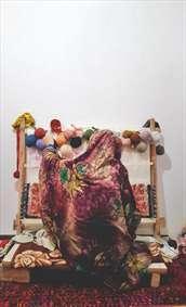 زن قالی باف