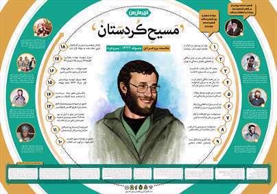 اینفوگرافی شهید محمد بروجردی