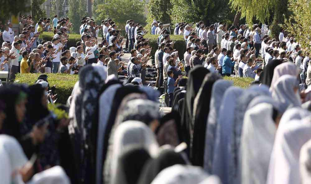 نماز عید فطر مصلی