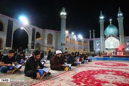آئین جزء خوانی قرآن در امامزاده محمد هلال بن علی(ع)