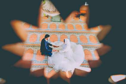 ازدواج ساده در مسجد