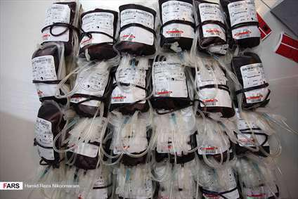 اهدای خون در شب بیست و یکم رمضان