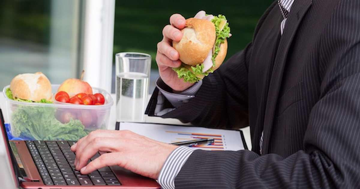 تغذیه در محل کار