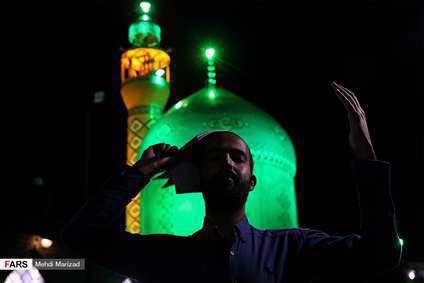 شب قدر در نیایشگاه حضرت خضر نبی(ع) در قم