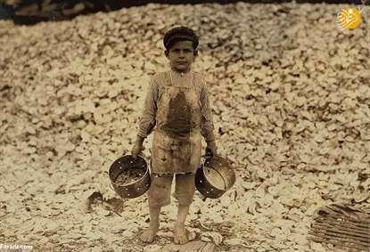 کودکان کار ۱۰۰ سال پیش در آمریکا