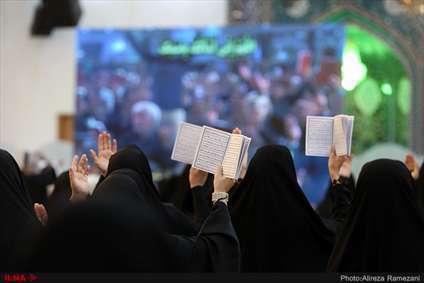 مراسم احیای شب نوزدهم ماه مبارک رمضان در حرم حضرت عبدالعظیم حسنی (ع)