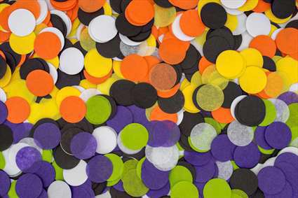 دایره های رنگی