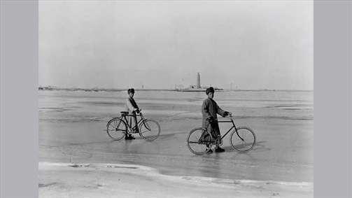 دوچرخه سواران چینی در قدیم