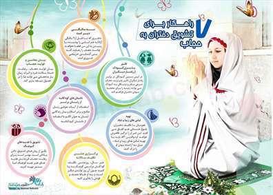 7 راهکار برای تشویق دختران به حجاب
