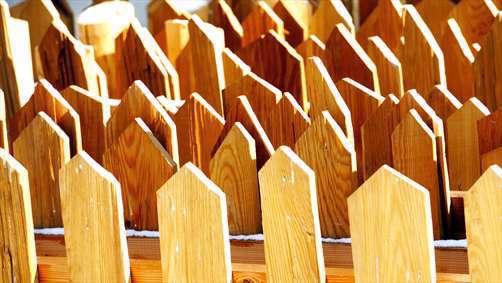 نرده های چوبی زیبا