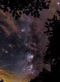 آسمون پر ستاره