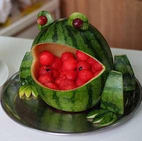 تزیین های هندوانه