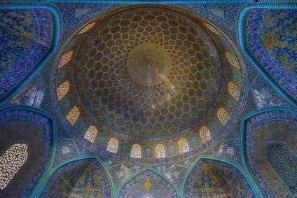 مقرنس های زیبای ایرانی