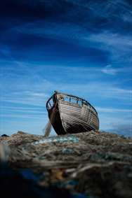 قایقی در آسمان