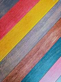 چوب های رنگی
