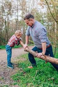 تلاش پدر و پسر