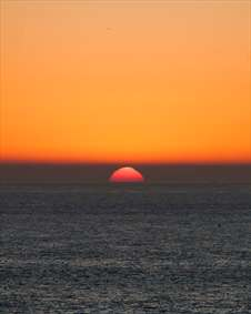 غروب خورشید