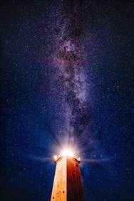 آسمان پر ستاره