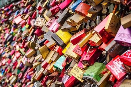قفل های رنگی