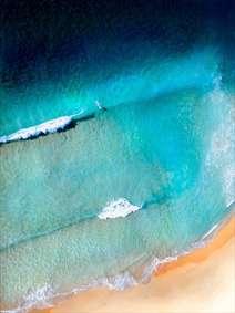 ساحل از نمای بالا