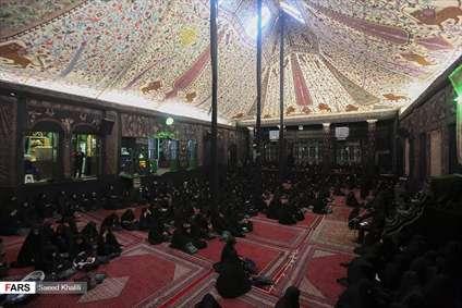 عزاداری محرم در حسینیه سادات اخوی
