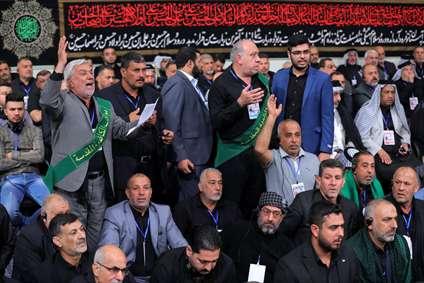 دیدار جمعی از موکبداران عراقی