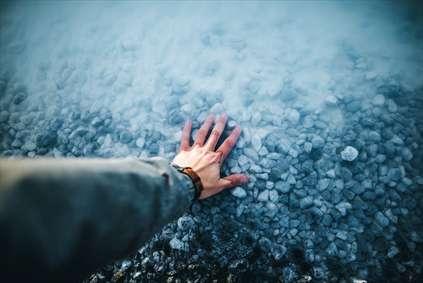 سنگهای کف رودخانه