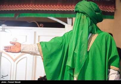 مراسم تعزیهخوانی ویژه ماه محرم در کرمانشاه