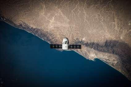 ماهواره در جو