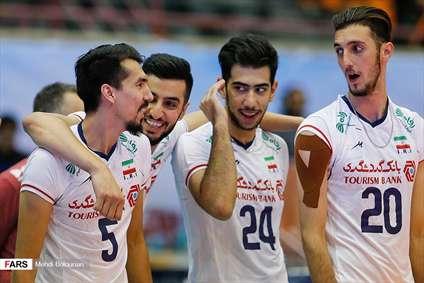 والیبال قهرمانی آسیا ایران سریلانکا
