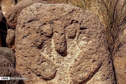 تمدن باستانی «سنگ افراشتهها» در مشگین شهر