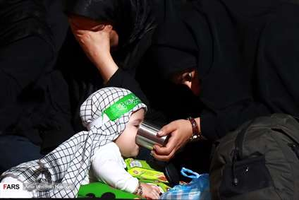 گردهمایی شیرخوارگان حسینی در استان ها