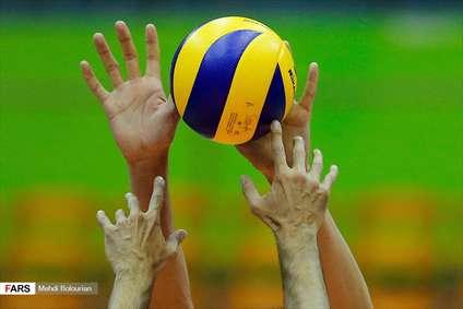 والیبال قهرمانی آسیا ایران۳ - چین ۰