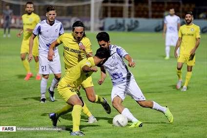 لیگ برتر فوتبال گل گهر ۱ - پارس جنوبی ۱
