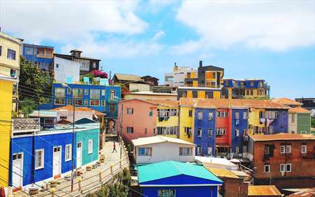 خانه های رنگی