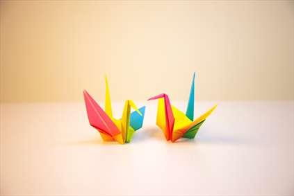 اوریگامی رنگی