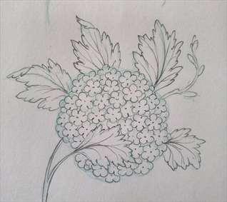 طراحی گل بداغ