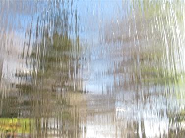 پنجره ی خیس