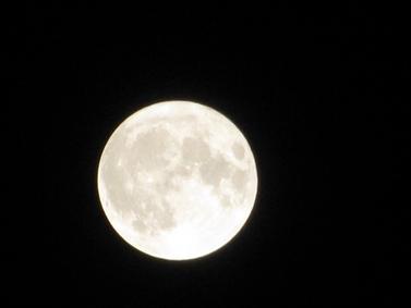 ماه با سایه های مختلف