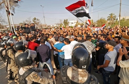 اعترضات مردم عراق
