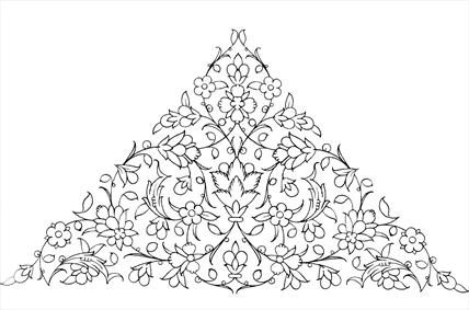 طرح نقوش سنتی ایرانی