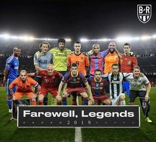 ستارگانی که در سال ۲۰۱۹ از دنیای فوتبال خداحافظی کردند