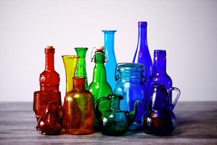 شیشه های رنگی زیبا